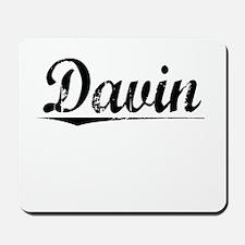 Davin, Vintage Mousepad