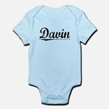 Davin, Vintage Infant Bodysuit