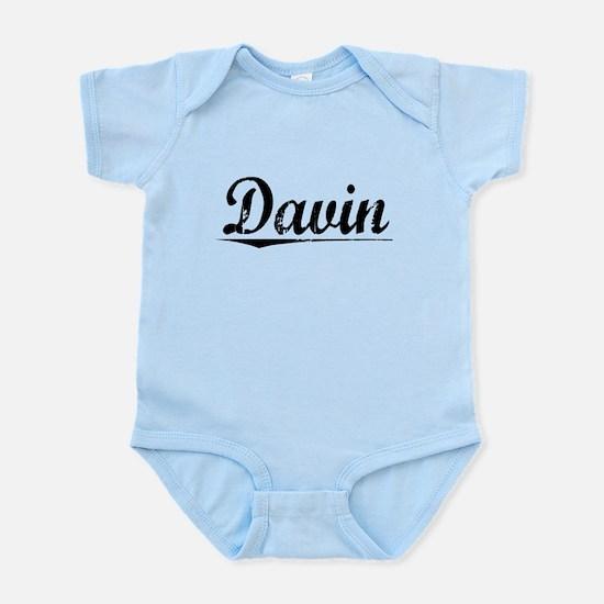 Davin, Vintage Infant Bodysuit