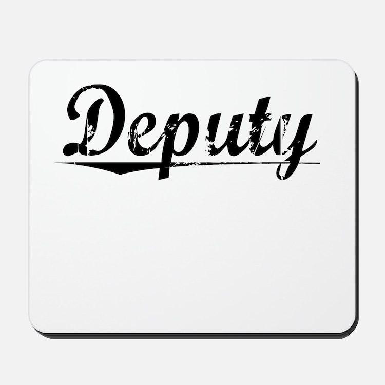 Deputy, Vintage Mousepad