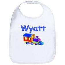 Train Engine Wyatt Bib