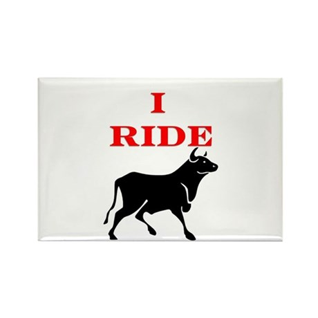 Ride Bull.png Rectangle Magnet