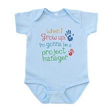 Future Project Manager Infant Bodysuit