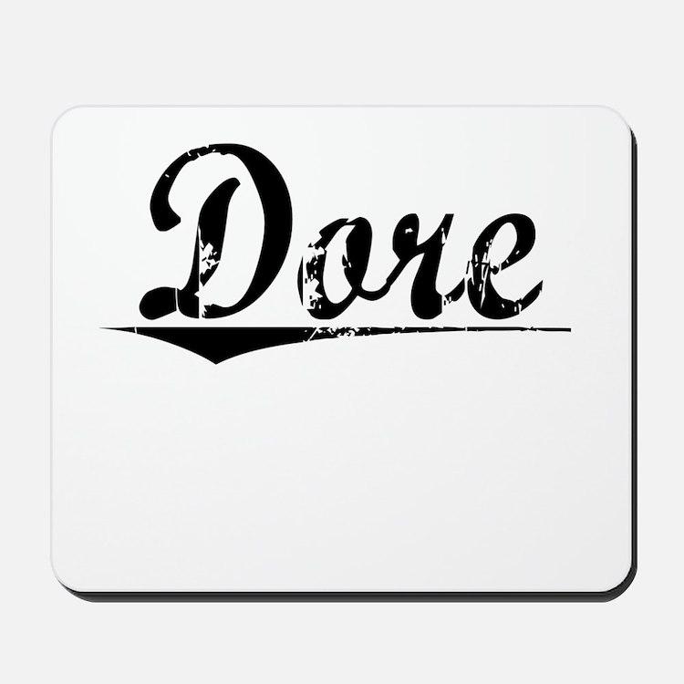 Dore, Vintage Mousepad
