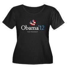 Obama '12 Plus Size T-Shirt