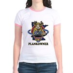 PLANKOWNER SSN 783 Jr. Ringer T-Shirt