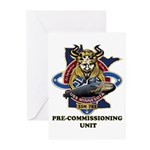 SSN 783 PCU Greeting Cards (Pk of 10)