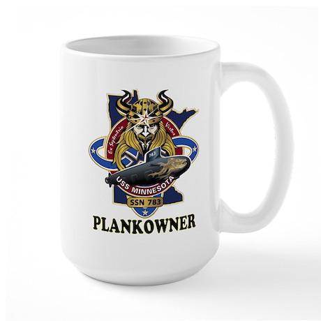 PLANKOWNER SSN 783 Large Mug