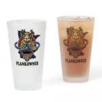 PLANKOWNER SSN 783 Drinking Glass