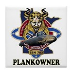 PLANKOWNER SSN 783 Tile Coaster