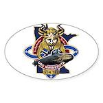 USS Minnesota SSN 783 Sticker (Oval)