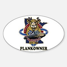 PLANKOWNER SSN 783 Decal