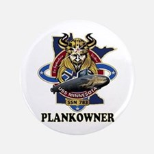 """PLANKOWNER SSN 783 3.5"""" Button"""