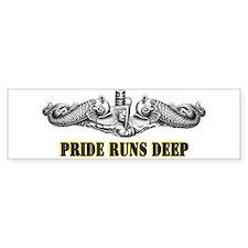 USS Minnesota Pride! Bumper Sticker