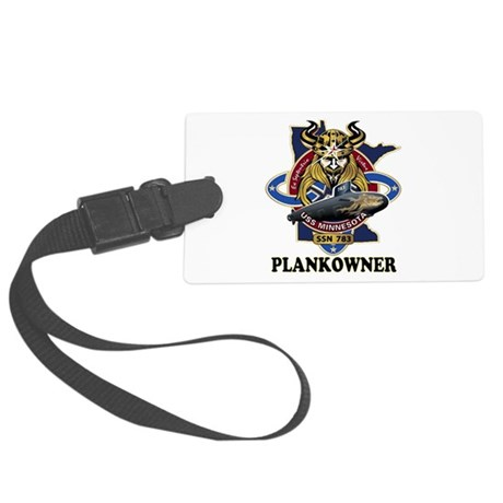PLANKOWNER SSN 783 Large Luggage Tag
