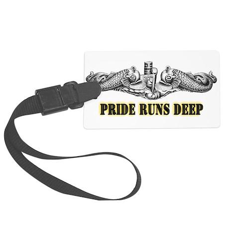 USS Minnesota Pride! Large Luggage Tag