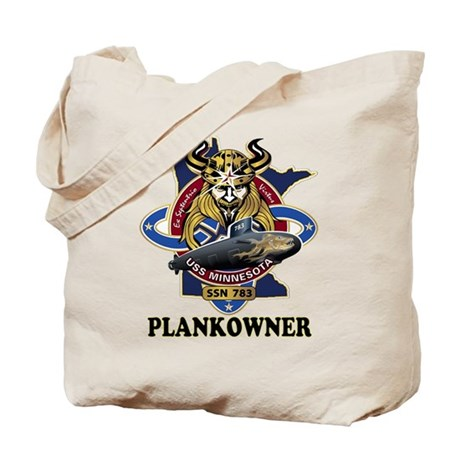 PLANKOWNER SSN 783 Tote Bag