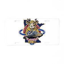 USS Minnesota SSN 783 Aluminum License Plate