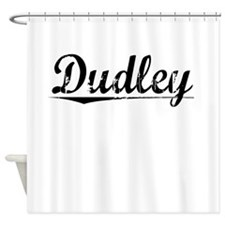 Dudley, Vintage Shower Curtain