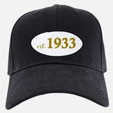 Est 1933 (Born in 1933) Baseball Hat