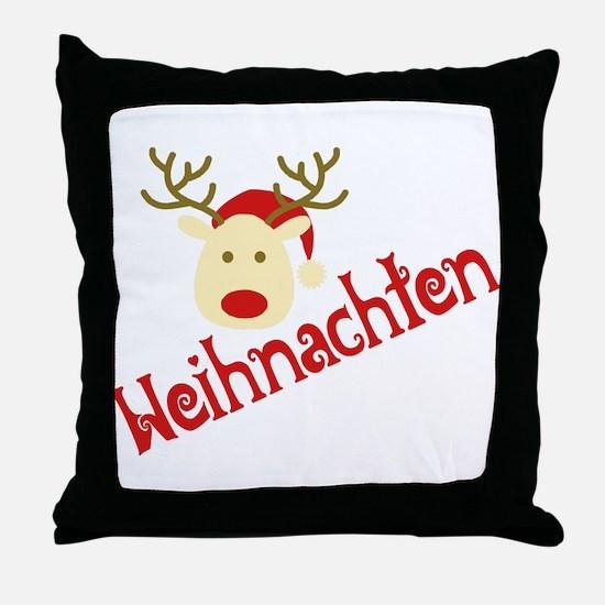 Cute December Throw Pillow