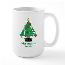 Personalized Christmas Tree Large Mug
