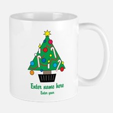 Personalized Christmas Tree Mug