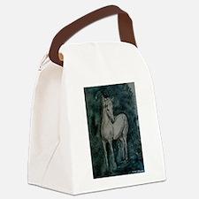 Horse! Beautiful animal art! Canvas Lunch Bag