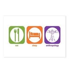 Eat Sleep Anthropology Postcards (Package of 8)
