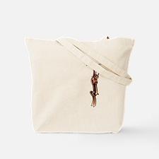 Clingy Bulldog Tote Bag