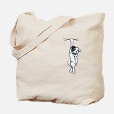 Clingy Bulldog Tote Bag