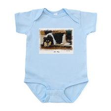 Tri Color Collie Infant Bodysuit