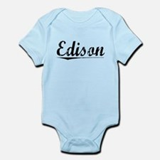 Edison, Vintage Infant Bodysuit