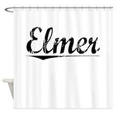 Elmer, Vintage Shower Curtain