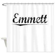 Emmett, Vintage Shower Curtain