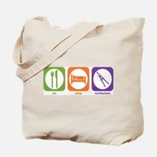 Eat Sleep Architecture Tote Bag