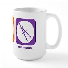 Eat Sleep Architecture Mug