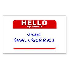 John Smallberries Rectangle Decal