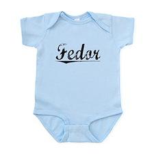 Fedor, Vintage Infant Bodysuit