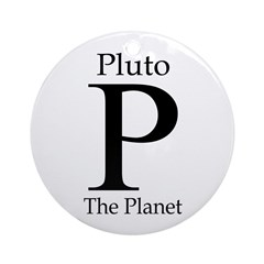 Pluto: The Planet (Christmas Ornament)