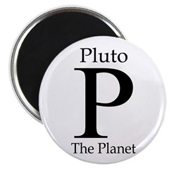 Pluto: The Planet Refrigerator Magnet