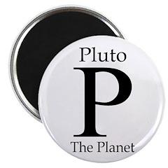 Pluto: The Planet Refrigerator Magnet