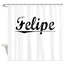 Felipe, Vintage Shower Curtain