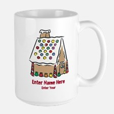Personalized Gingerbread House Mug