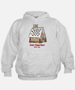 Personalized Gingerbread House Hoodie