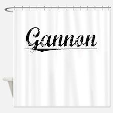 Gannon, Vintage Shower Curtain