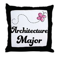 Architecture Major Throw Pillow