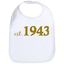 Est 1943 (Born in 1943) Bib