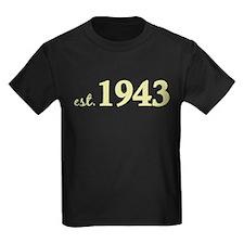 Est 1943 (Born in 1943) T