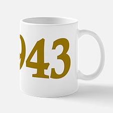 Est 1943 (Born in 1943) Mug